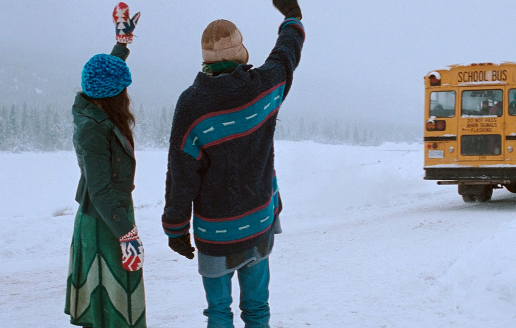 ||Still image from Atom Egoyan's The Sweet Hereafter, based on the book by