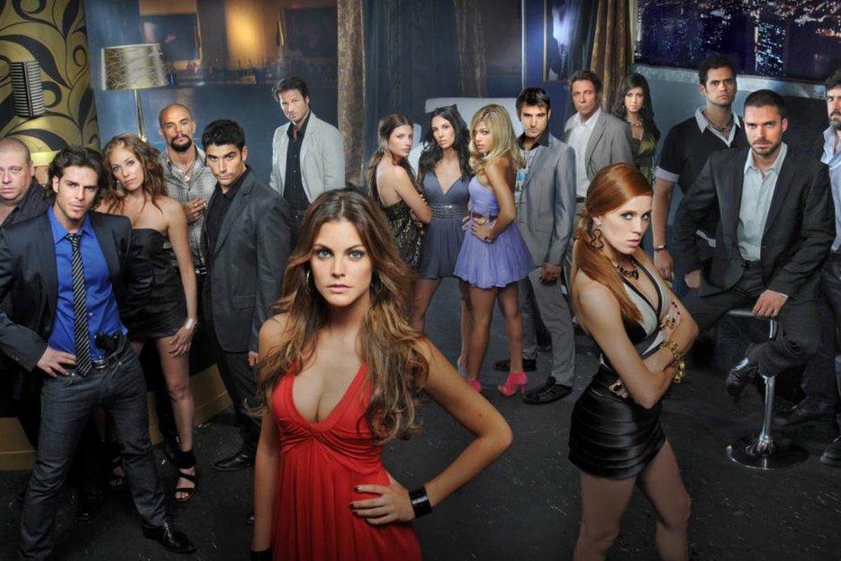 | Cast of Sin tetas no hay paraíso telenovela