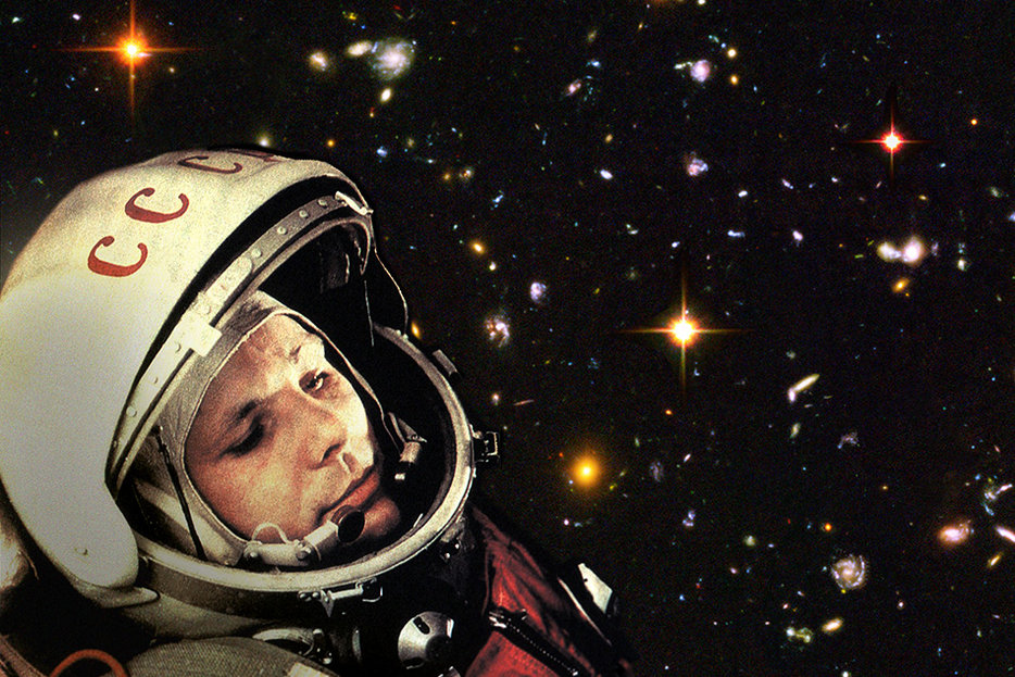 ||Yuri Gagarin (Robert Couse-Baker/Creative Commons/Flickr)