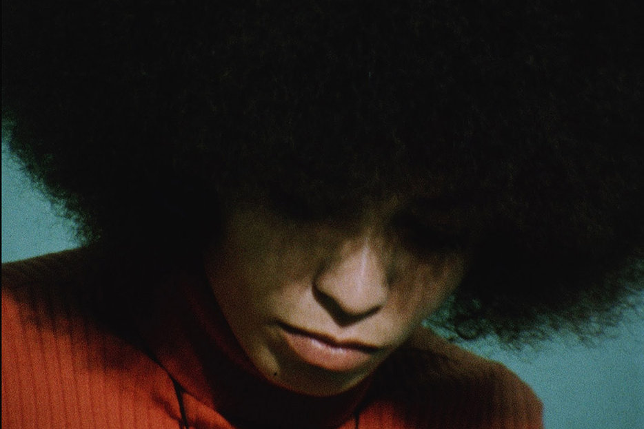 ||Angela Davis in a still image from the documentary Black Power Mixtape
