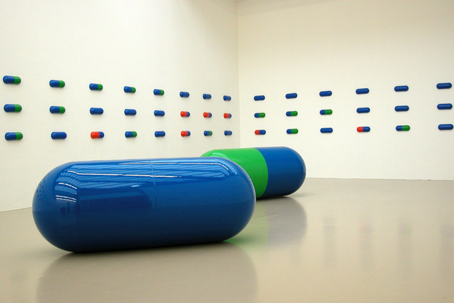 ||Installation by General Idea, at Biennale d'art contemporain de Lyon 2005