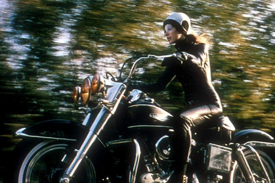 ||Marianne Faithful in Girl on a Motorcycle (1968)