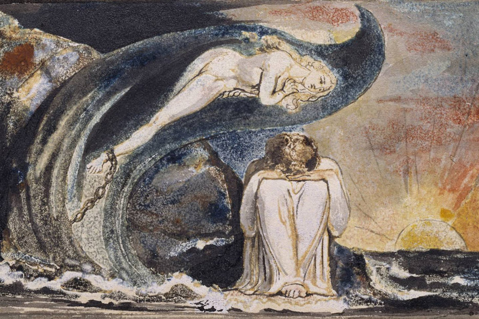 | Plate 4, Visions of the Daughters of Albion | William Blake