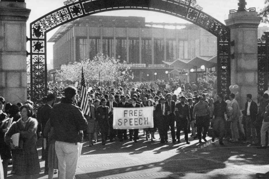 || The Berkeley Free Speech Movement student protest