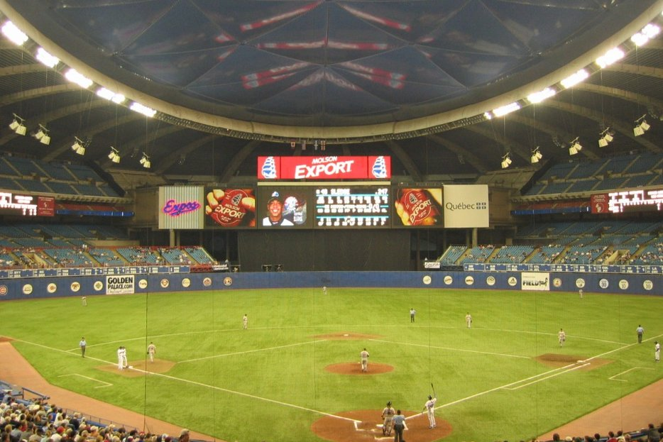|| Montreal Expos vs. Houston Astros at the Olympic Stadium, via Flickr user Mike Durkin