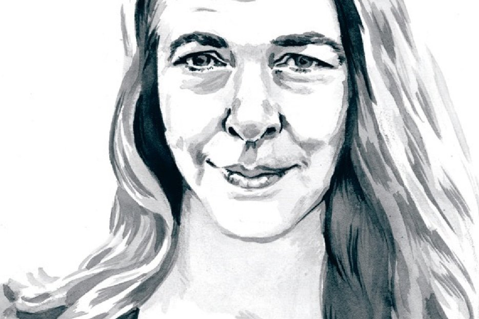 Portrait by Julia Dickens