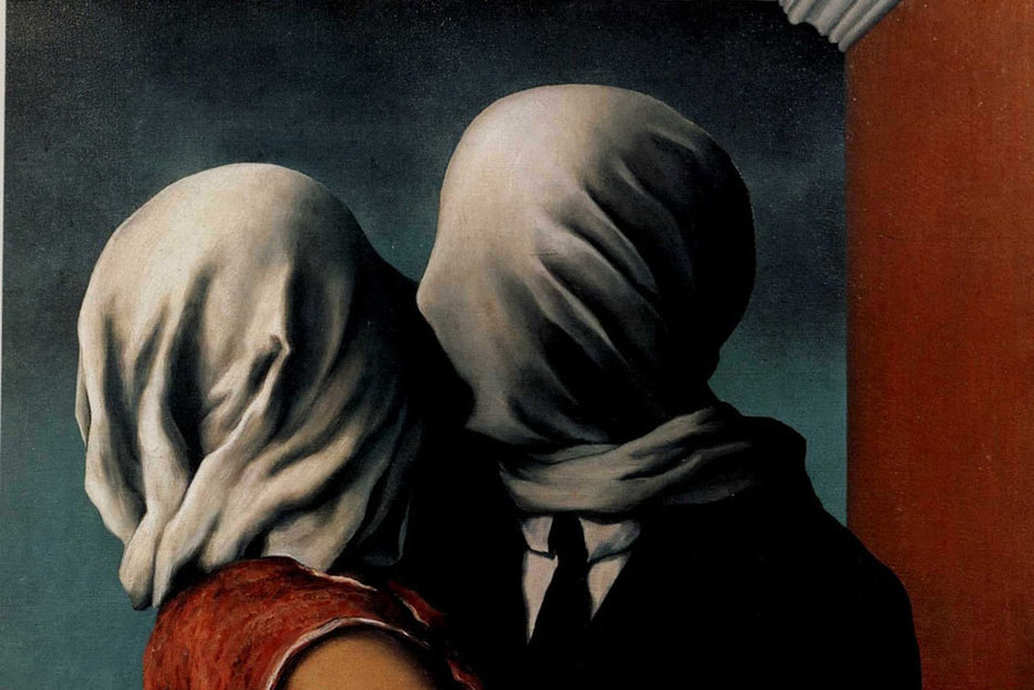 | | The Lovers, Rene Magritte, 1928