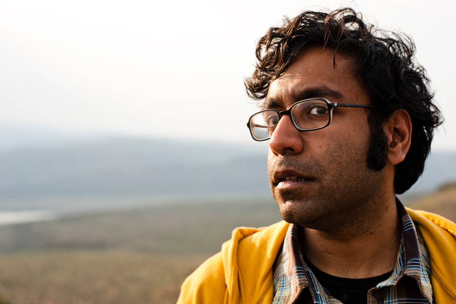 Stand-up comedian and writer Hari Kondabolu| |photographed by Kyle Johnson.