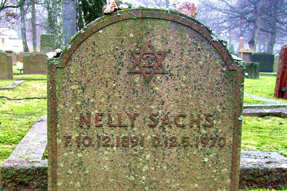 || Nelly Sachs' grave via Raphael Saulus