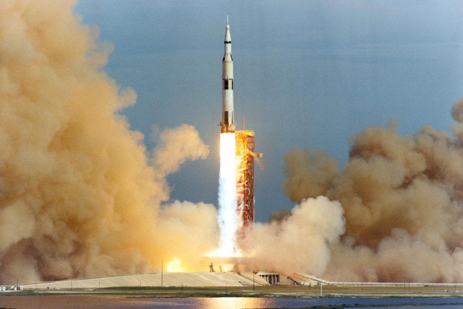    The Saturn V rocket