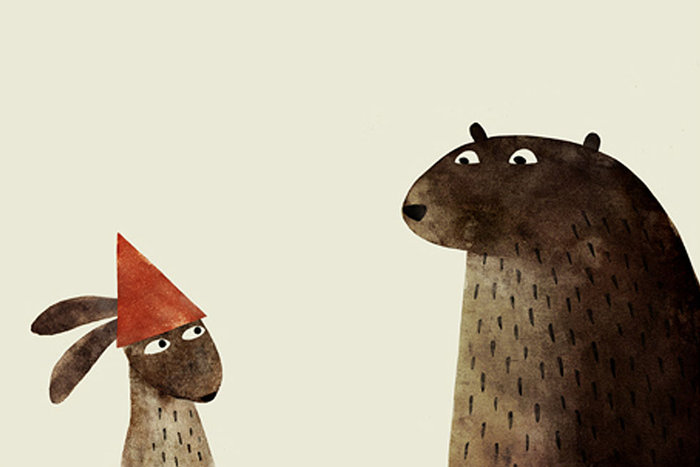 | Image from I Want My Hat Back by Jon Klassen