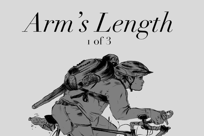 Banner for Arm's Length Part 1 by K.L. Ricks for Hazlitt