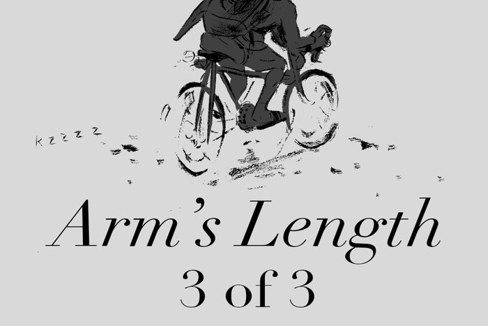 Banner for Arm's Length Part 3 by K.L. Ricks for Hazlitt