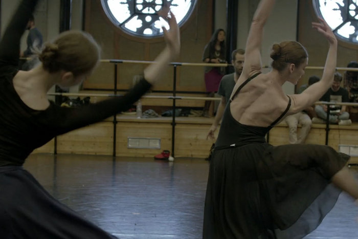 ||From rehearsals of Daphnis et Chloé, new work by Benjamin Millepied.
