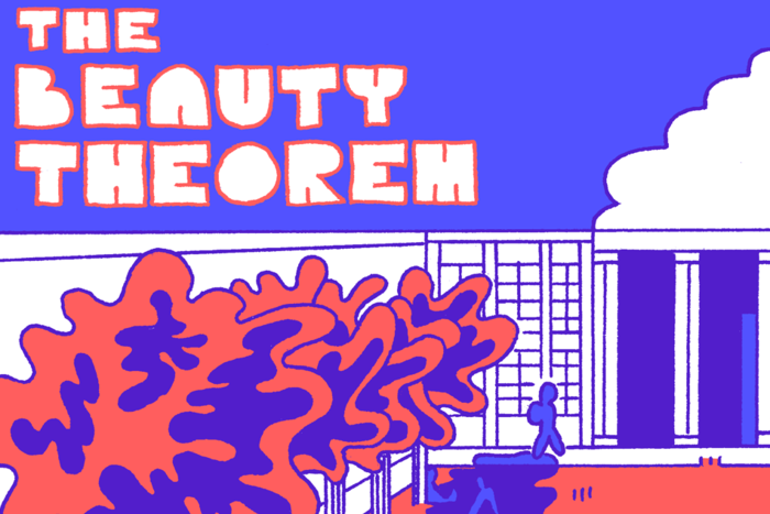 The Beauty Theorem Banner by Benjamin Urkowitz for Hazlitt