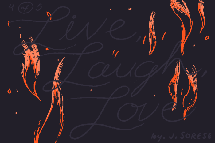 Banner for Live, Laugh, Love Part 4 by Jeremy Sorese for Hazlitt
