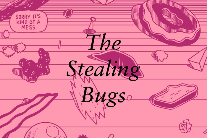 Banner for Michael DeForge's The Stealing Bugs
