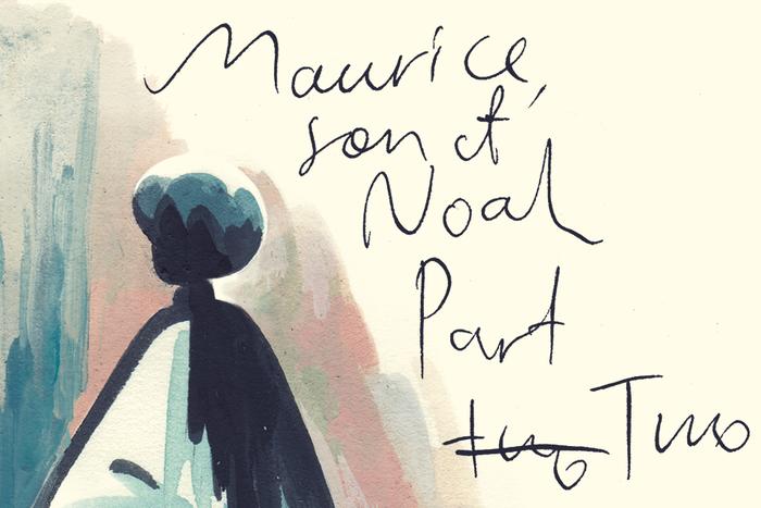 Maurice Son of Noah Part 2 banner by Roman Muradov for Hazlitt