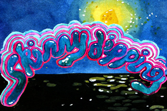 Banner for Skinny Dipping by Becca Tobin for Hazlitt