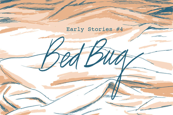 Banner for Early Stories Pt. 4 by Jillian Tamaki for Hazlitt