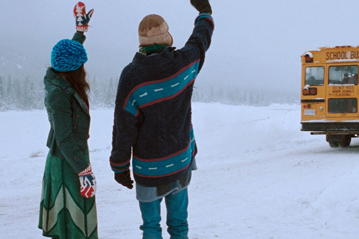 ||Still image from Atom Egoyan's The Sweet Hereafter, based on the book by Russell Banks