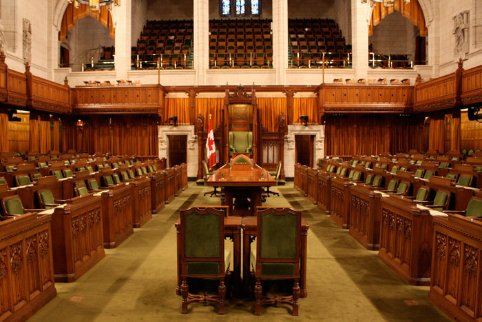 ||The Chamber of the House of Commons of Canada via Wikimedia Commons