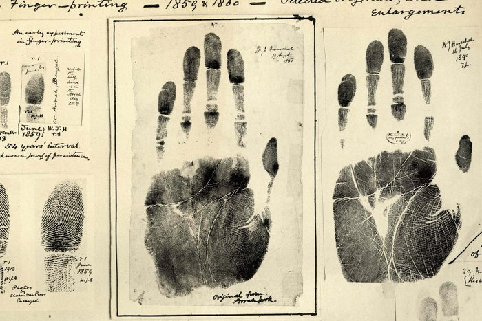 Fingerprints ca. 1859