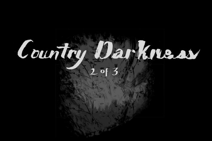 Banner for Country Darkness by K.L. Ricks for Hazlitt