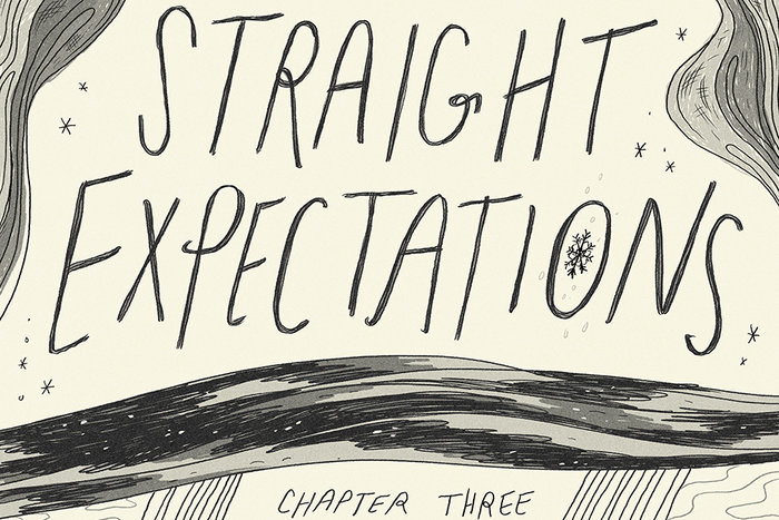 Banner for Straight Expectations Part 3 by Annie Mok and Natalie Andrewson for Hazlitt