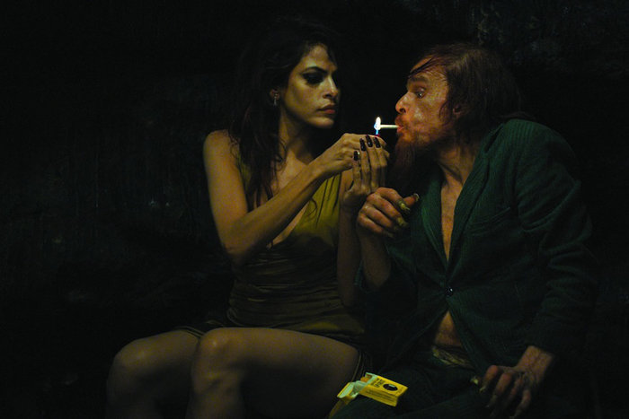 | |Image from Holy Motors, directed by Léos Carax and starring Denis Lavant