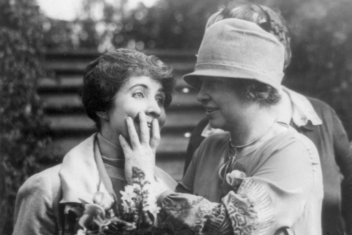 || Grace Coolidge and Helen Keller