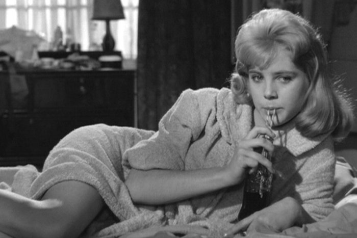 ||Sue Lyon as Dolores Haze in Stanley Kubrick's film adaptation of Lolita