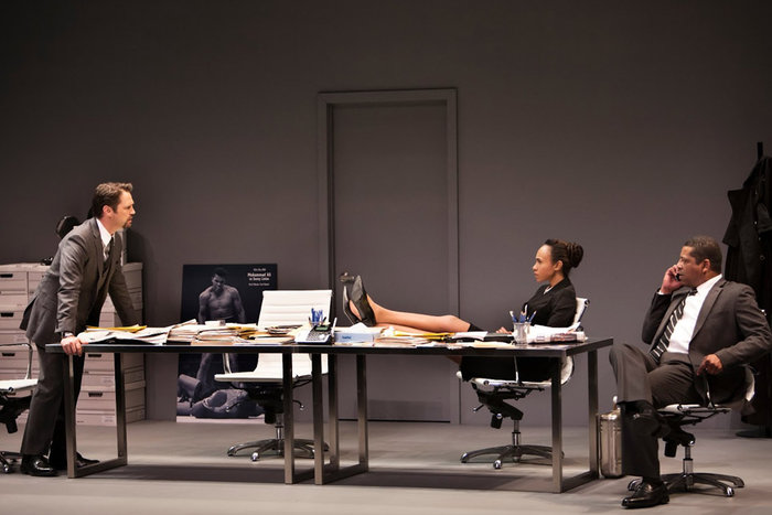 ||From the Canadian Stage production of David Mamet's Race.