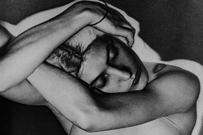 ||One of Man Ray's solarized nudes, 1931