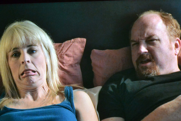 | Maria Bamford with Louis C.K.