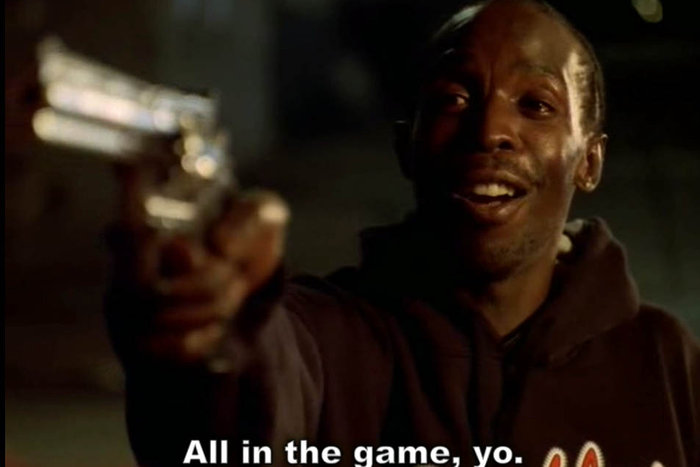|Michael K. Williams as Omar Little in The Wire