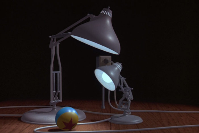 Still from Luxo Jr.