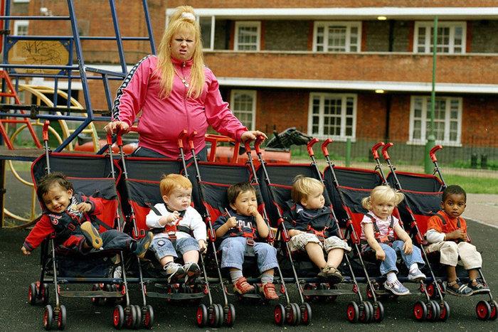    'Chav' Vicky Pollard on BBC's Little Britain